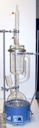 Soxhlet Extraction Large Capacity For Rapid Cycling Of Solvents
