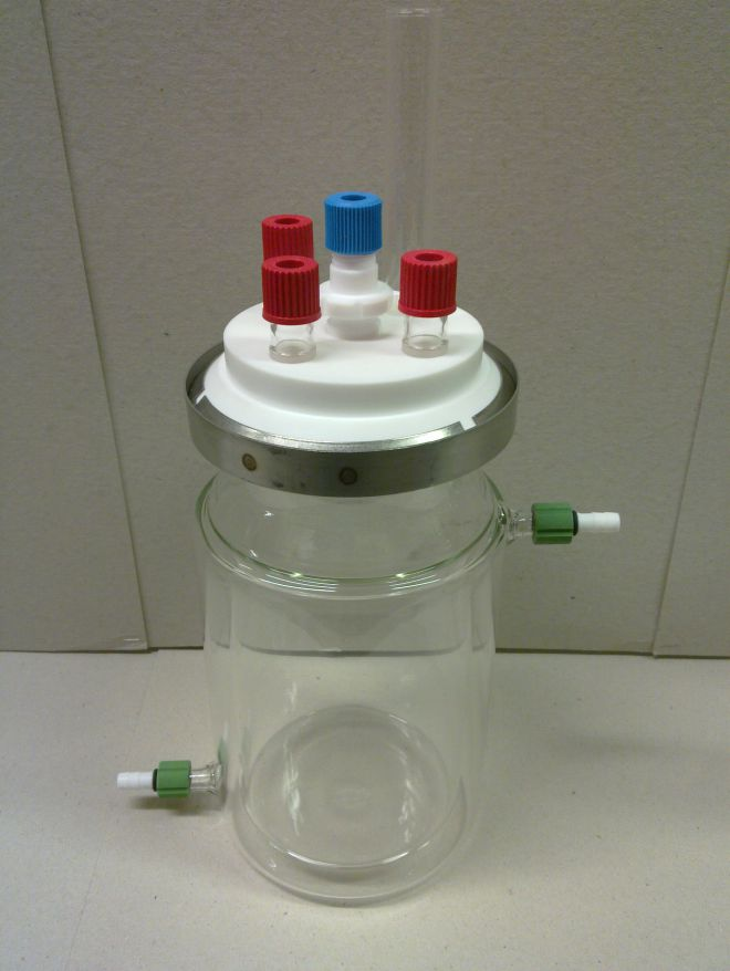 Jacketed Reaction Cell